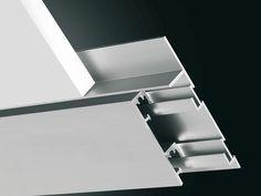 Aluminium Skirting board PLANO BF by PROFILITEC