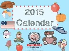 This Freebie Friday item is a cute calendar for the classroom.  Remember to follow for more freebies and please leave your feedback.   Check out the rest of the goodies in my store.