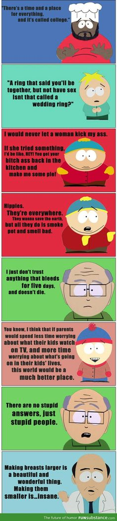 Epic South Park Quotes