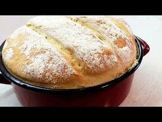 Paine de casa, la cratita - Reteta mamei pentru cea mai pufoasa paine - YouTube