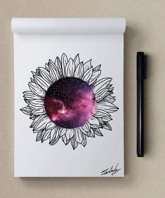 Flowery - Stars Themed Illustrations by Muhammed Salah