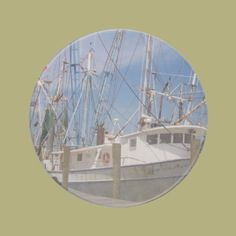 Shrimpers Drink Coasters