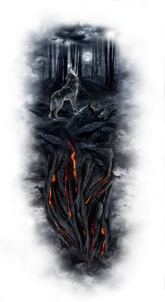 www.customtattoodesign.net wp-content uploads 2014 04 wolf.jpg