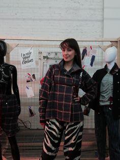 Monika Hauck X Fashion Revolution, fash_rev_de wore FEODORA.Moscow Art-Werk Forum #imadeyourclothes Moscow, Revolution, Punk, People, How To Wear, Art, Style, Fashion, Art Background