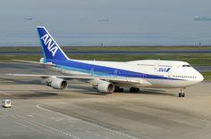 All Nippon Airways (ANA) Boeing 747.