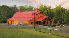 Wedding Event Barn | Sand Creek Post & Beam | Canopy Creek Farm  #barnwedding #rusticwedding #wedding  https://www.facebook.com/SandCreekPostandBeam