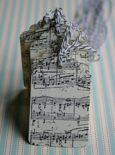 Musical Notes Tag