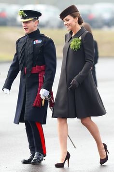 Royal Flush  - Kate Middleton Catherine Walker-Wmag