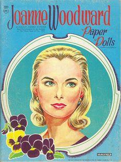 Joanne Woodward paper dolls.