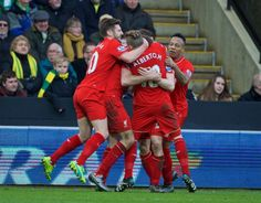 Norwich City 4-5 Liverpool: Late Lallana strike seals emphatic victory