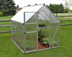 Nature Twin 6 Ft. W x 8 Ft. D Greenhouse