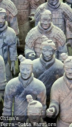 Visiting the Terra-Cotta Warriors, among other attractions of Xi'an, China. For more information visit the blog