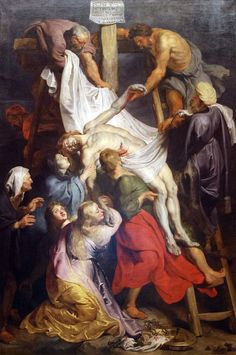 Peter Paul Rubens. The Descent from the Cross (1617–18), (Palais des Beaux-Arts de Lille)
