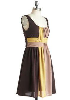 On the Honey Dress, #ModCloth