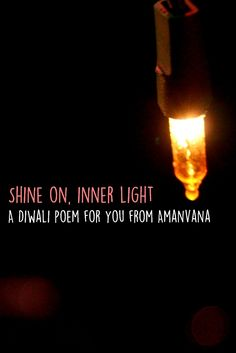 The season of #diwali lights is here again. Won't you stop tearing the air apart and show your inner light again? Read more http://amanvanaspa.com/coorg-resorts/inner-light/