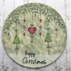 PaperArtsy: NEW PaperArtsy Products: September 2019 {Kay Carley} Christmas Doodles, Christmas Crafts, Christmas Ornaments, All Things Christmas, White Christmas, Crafts For Kids, Arts And Crafts, Cottage Crafts, Floor Cloth