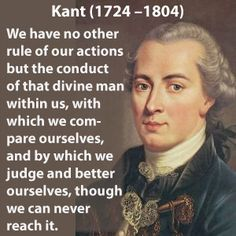 "Immanuel Kant, (German), is widely credited as the key player in the development of modern philosophy, and Western thought. Kant redefined the fundamentals of philosophical inquiry. Kant argued that ""pure reason"" could not prove God's existence, but ""practical reason"" could. Kant claimed that by observing the moral instincts of people we can see that there is some kind of source beyond the mere human will itself that directs life."