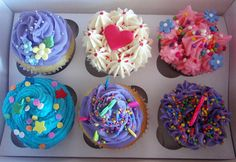 cupcakes...seriously. My eyes bulged and my jaw dropped (Very seriously).