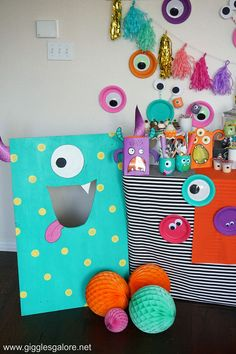 Colorful Monster Mash Halloween Party