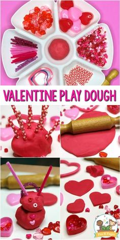 Valentine Play Dough Activity - Pre-K Pages