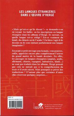 Tintin - Divers- Les langues étrangères dans l'œuvre d'hergé