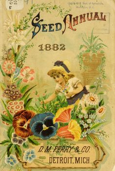 D.M. Ferry & Co. - Seed annual, 1882