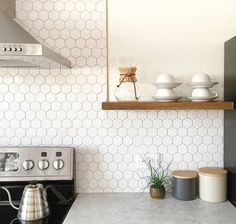 17 Tempting Tile Backsplash Ideas for Behind the Stove | COCOCOZY