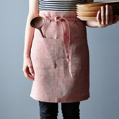 Chambray Linens for the Kitchen