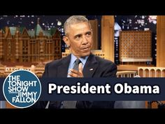 President Barack Obama and Jimmy recall their sweaty first encounter and discuss where he plans to go with wife Michelle on his last Air Force One flight. Jimmy Fallon Videos, Feel Good Pictures, Mr President, Seriously Funny, American Presidents, Michelle Obama, Barack Obama, Awkward, Hilarious