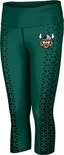 ProSphere Womens Cleveland State University Geometric Capri Length Tight ** Continue to the product at the image link.(This is an Amazon affiliate link and I receive a commission for the sales)