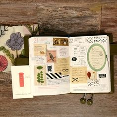 I think this is a great mix of scrapbook and journal!   yux http://iconosquare.com/tag/yuxsjournal/