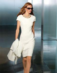 Für den kleinen oder festlichen Anlass – dieses Kleid garantiert Ihnen einen modischen Auftritt.