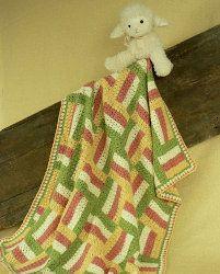 Sonoma Baby Blanket | AllFreeCrochetAfghanPatterns.com