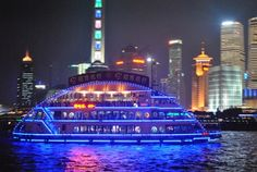 Top Places in Shanghai – Cruising in Huangpu River – Museums and Parks