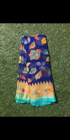Pure antic weaving brasso sarees with blouse Silk Saree Banarasi, Kora Silk Sarees, Banaras Sarees, Chiffon Saree, Saree Dress, Cotton Saree, Half Saree Designs, Saree Blouse Neck Designs, Salwar Designs