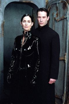 Keanu Reeves Movies, The Matrix Movie, Carrie Anne Moss, Four Movie, Donna Tartt, Goth Model, Keanu Charles Reeves, The Secret History, Film Serie