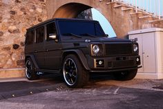 "this is a dirty mercedes g-wagon, so subtle its outrageous. certified ""boss luxury"""