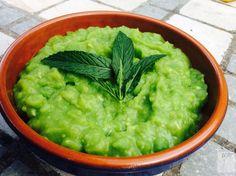 Mushy peas and mint sauce, Nottingham