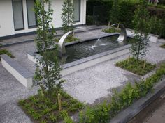 moderne fonteinen tuin - Google zoeken