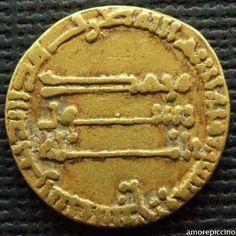 ISLAMIC, Abbasid Caliphate, AV Gold Dinar, Madinat al-Salam; 157 AH.
