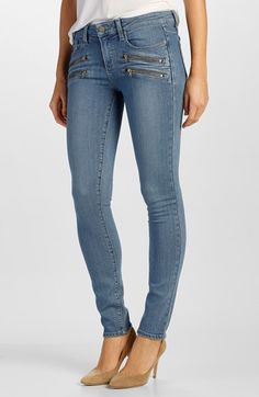 Paige Denim  Transcend - Edgemont  Ultra Skinny Jeans (Joelle No Whiskers)  available af006fac6fab3