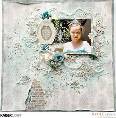 Hello everyone, it'sKyliewith you all today with a tutorial of my 'Frosted Snowflake' layout. I'm using the new 'Frosted' Christmas collection which is absolut…