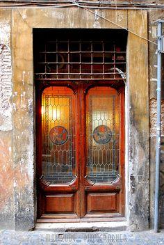 Rome, Italy It was all about the doors.right Patrick? The Doors, Cool Doors, Windows And Doors, Grand Entrance, Entrance Doors, Doorway, Portal, Door Knockers, Door Knobs