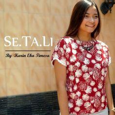 Simple blouse Se.Ta.Li white rose #simpleblouse #sewingproject
