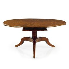 A Louis XVI mahogany dining table circa 1780, the base associated Estimate 15,000 — 20,000 USD LOT SOLD. 34,375 USD (Hammer Price with Buyer's Premium)