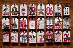 So love this Christmas Countdown from Kerri Bradford.