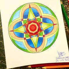 Mandala 15  Tranquilidad