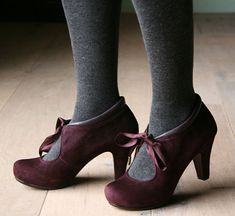 great color shoes and perfect heel height