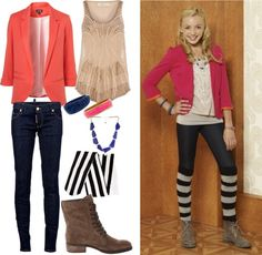"""peyton list outfits on jessie 