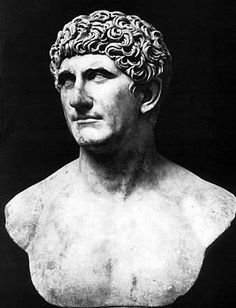 Mark Antony had taken over Caesar's legions after the murder, and planned to battle the senate in order to forward his own ambitions.Octavian joins the senate against Antony. Antony is defeated but senate will not grant Octavian his legal power.